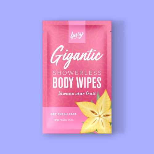 Busy Beauty Gigantic Body Wipes
