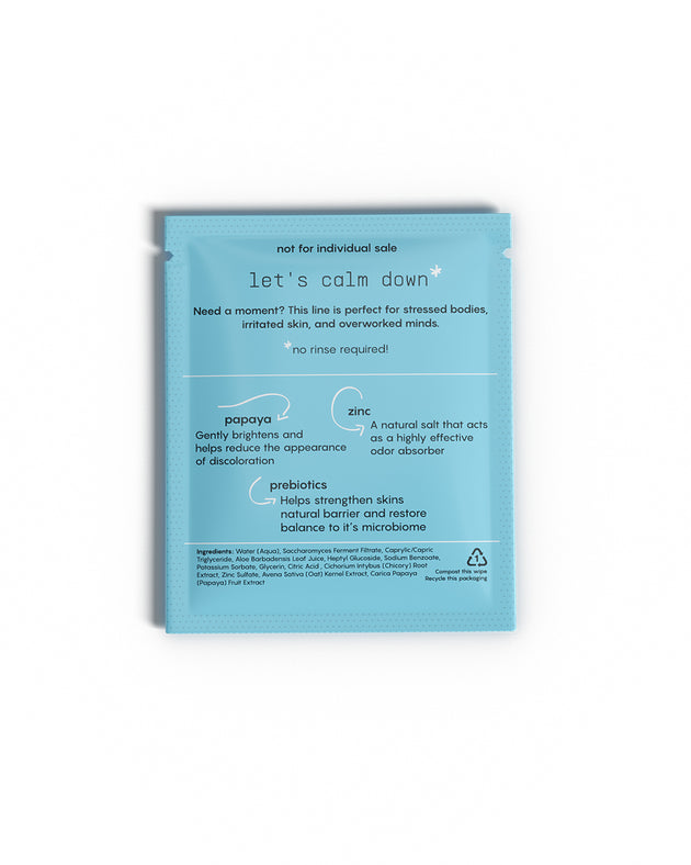 Soothing Deodorant Wipes