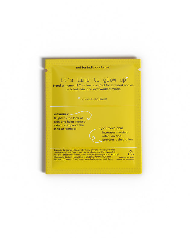 GLOW Face Wipes