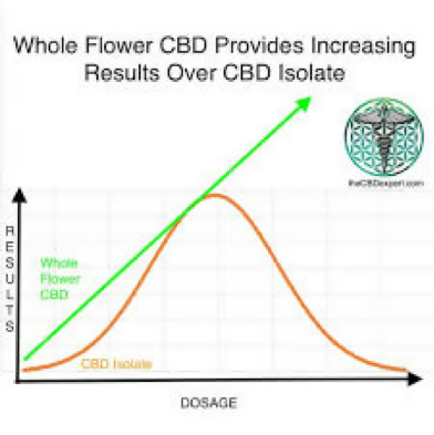 benefits of CBD Hemp Flower over oils and isolates