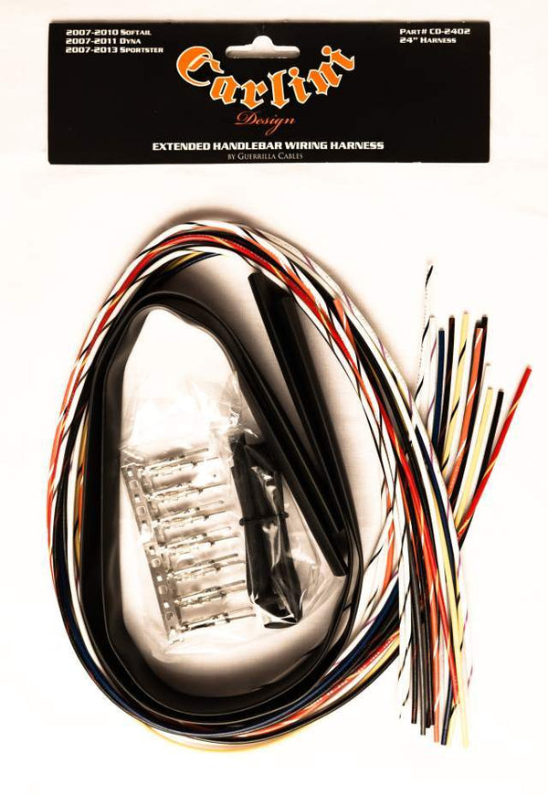 2007-2010 Softail / 2007-2011 Dyna / 2007-2013 Sportster Electrical Extension