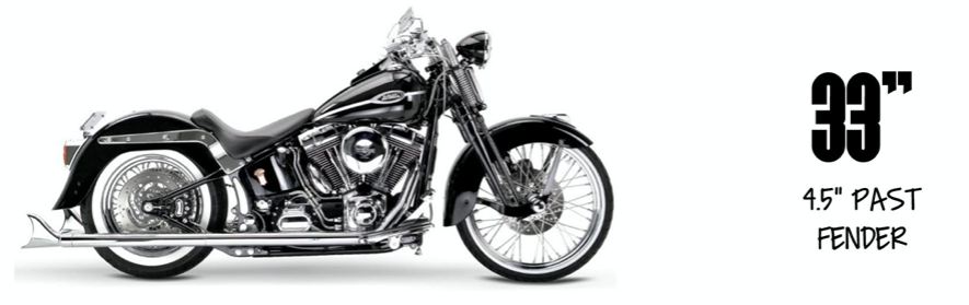 Samson True Duals Softail Exhaust Package 2012-2017 Softail