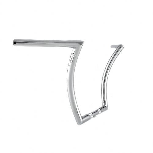 "Menace Ape 1.25"" 14'' Stepped Chrome Throttle By Wire"