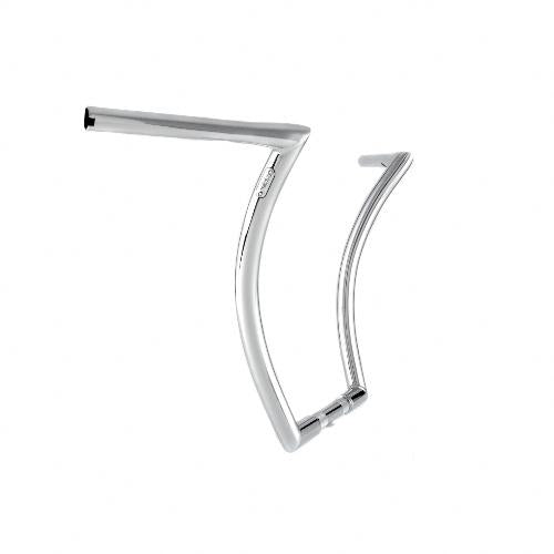 "Menace Ape 1.25"" 16'' Stepped Chrome Throttle By Wire"