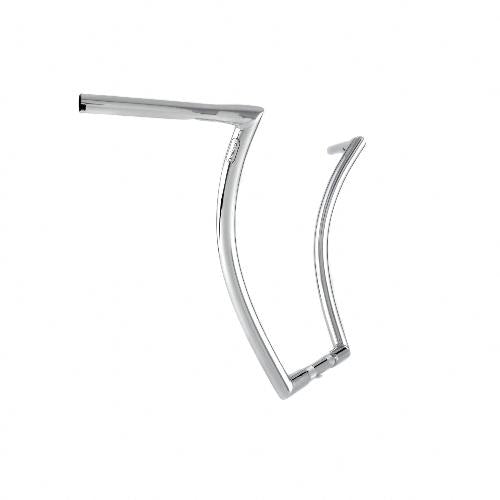 "Menace Ape 1.25"" 18'' Stepped Chrome Throttle By Wire"