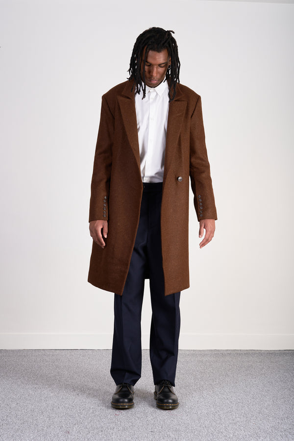 Rust Long Coat