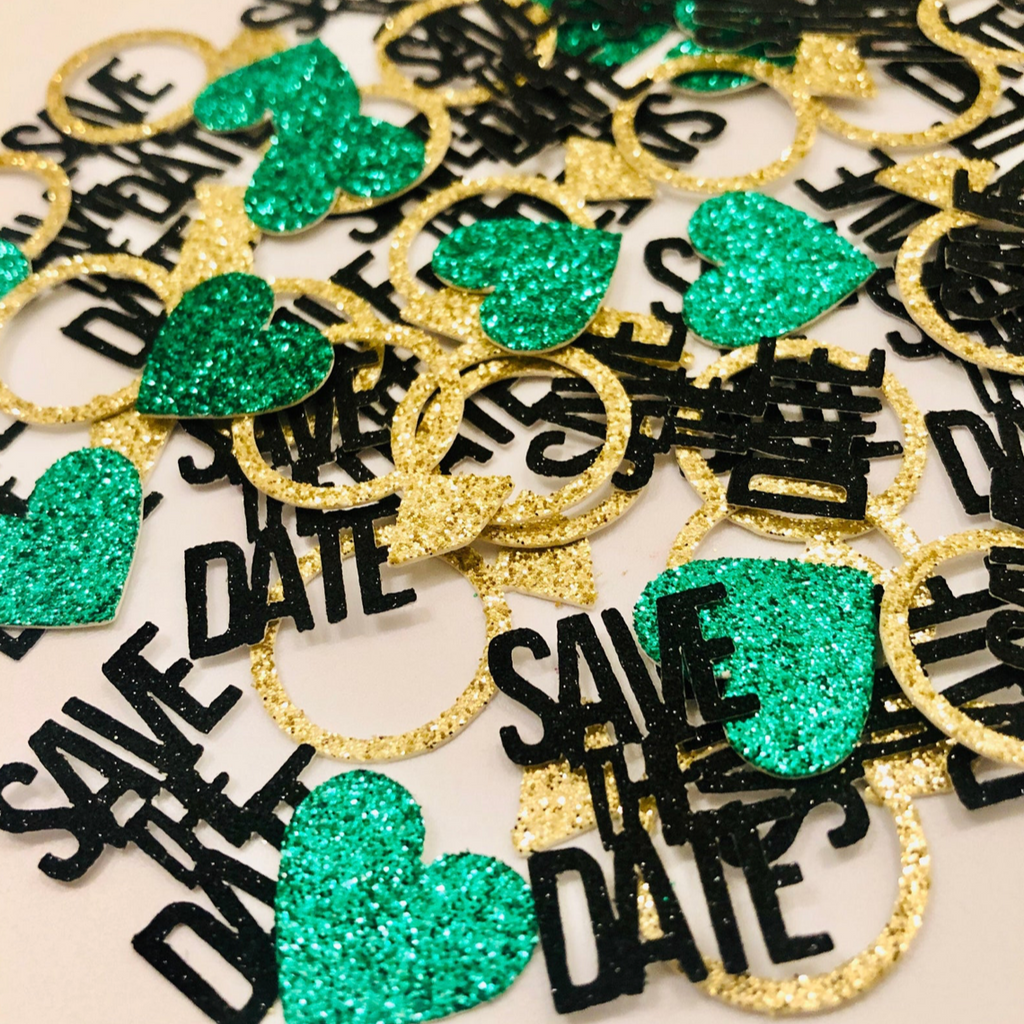 Save the Date Confetti