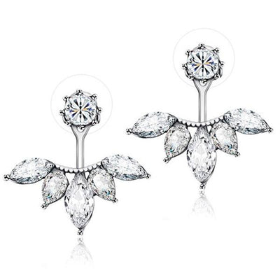 Exquisite Leaf Stud Earrings
