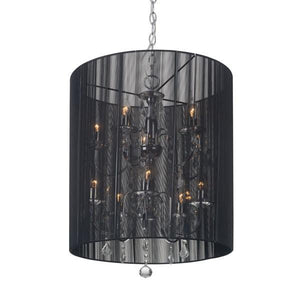 Zuo Whitney Ceiling Lamp Black