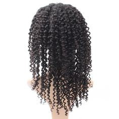 Easy Hair Brazilian Kinky curly Human Hair Lace Frontal Wig 1pc/lot