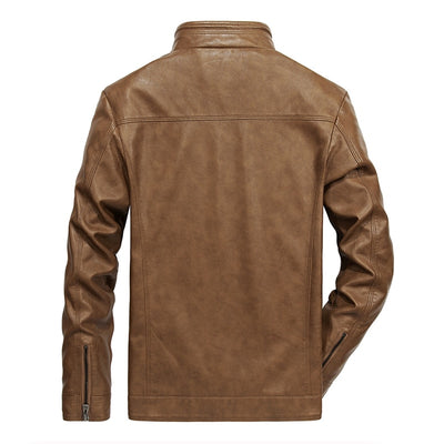 2019 High Quality Men Jacket Leather M->5XL | 2019 hommes veste en cuir de haute qualité M->5XL