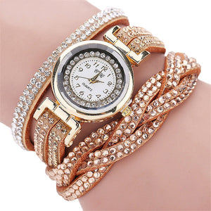 2019 fashionable rivet wrist watches for women | 2019 montres bracelet à rivets à la mode pour femmes
