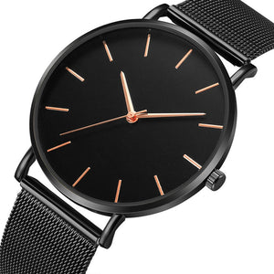 Fashion Watch Men Stainless Steel | Montre de mode hommes en acier inoxydable
