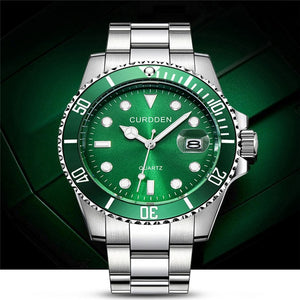 Fashion Military Stainless Steel Quartz Analog | Mode Militaire En Acier Inoxydable