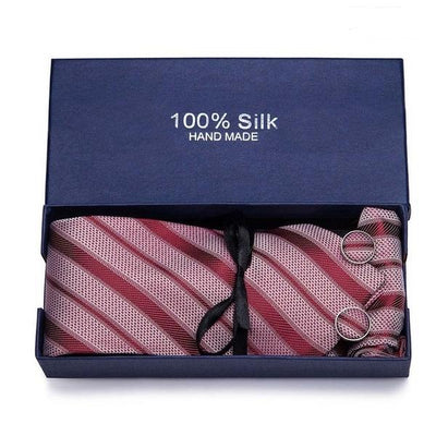 New 100% Silk Neckties Set for formal occasions | Ensemble de cravate formelle tissé 100% soie