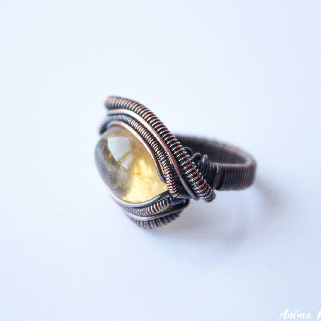 Citrine Ring CUSTOM | Heady Ring for Men