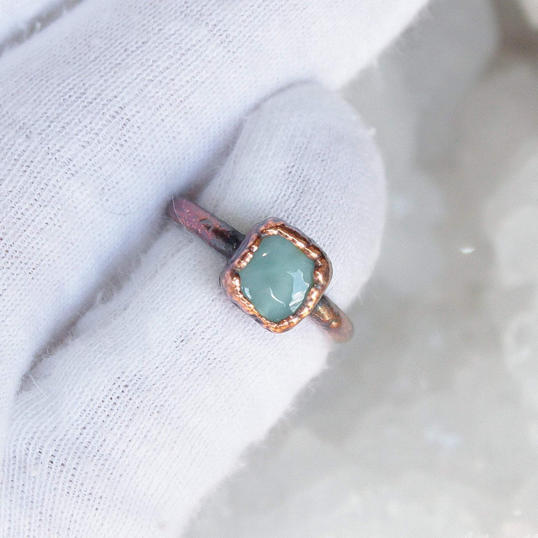 Larimar Midi Ring Size 2.5US Small Stacking Ring