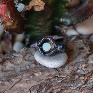 Smoky Quartz Ring for Men | Signet Ring | Bold Ring