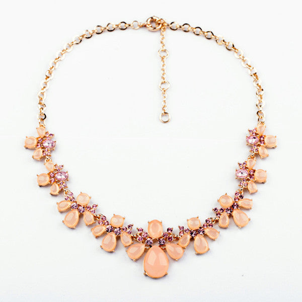 A14804 fashion statement necklace