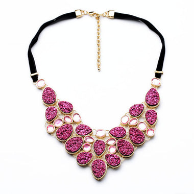 A14809 fashion statement necklace