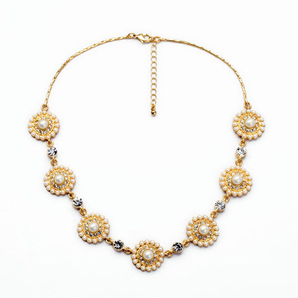 A14807 fashion statement necklace