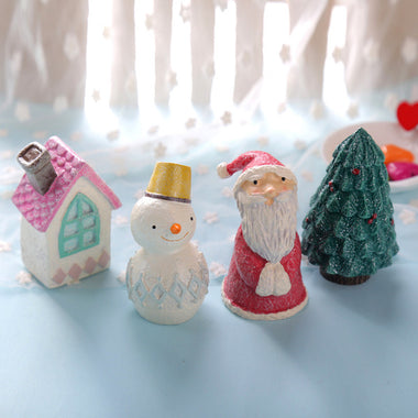 A14886 Christmas cute resin craft set of 3