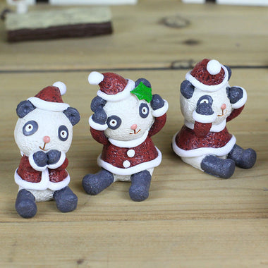A14872 Christmas cute resin craft set of 4