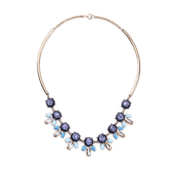 A14803 fashion statement necklace