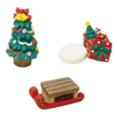 A14852 Christmas cute resin craft set of 3