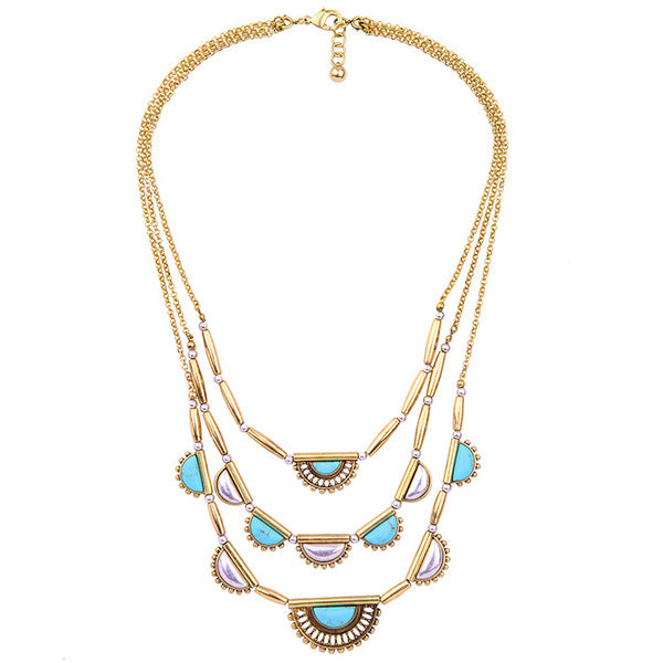 A14808 fashion statement necklace