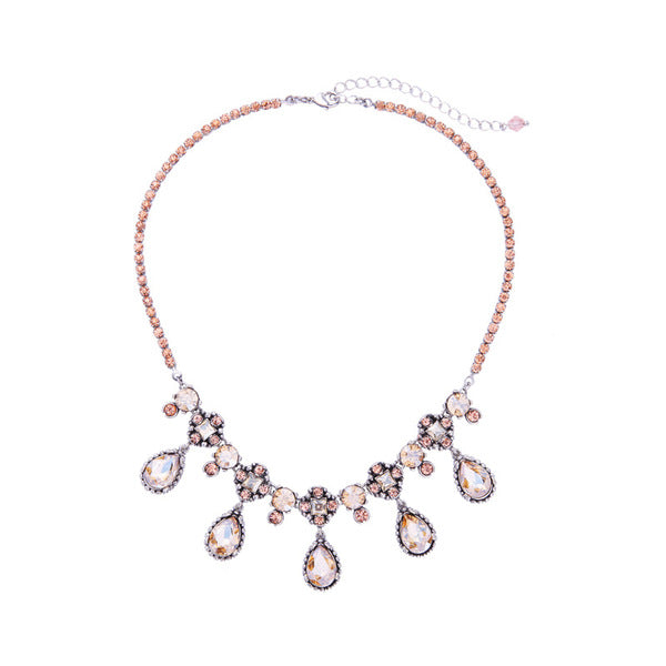 A14802 fashion statement necklace