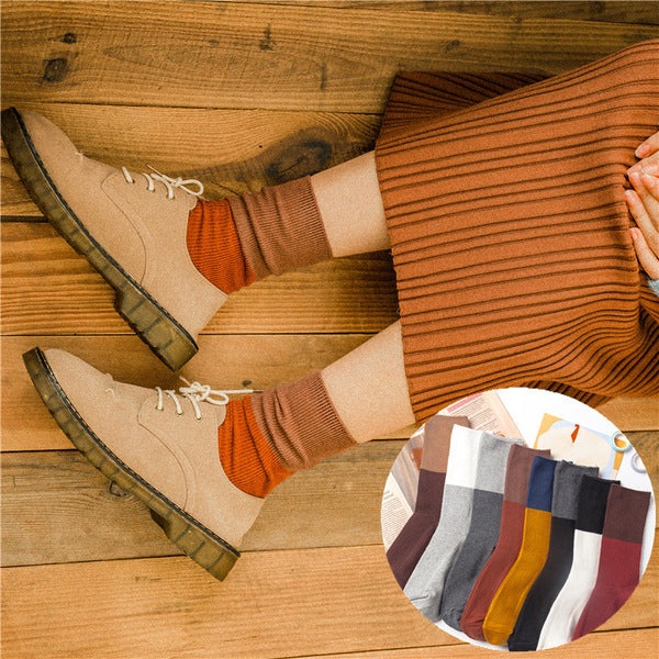 A10095 socks socksvintage double post socks women socks