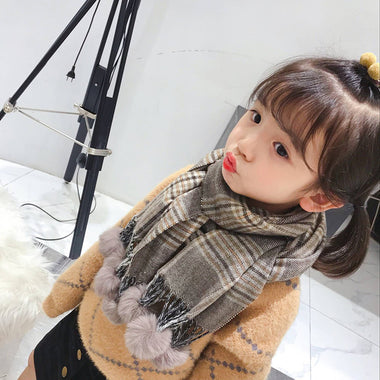 A15035 children kis scarf