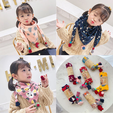 A15027 children kis scarf