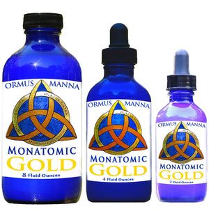 Ormus Gold Manna 99.99 Monatomic Gold mono atomic M-STATE + 5 SOURCES, 4 oz.