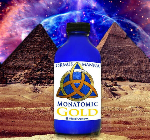 LARGE MONATOMIC GOLD ORMUS +POTENT & CONDENSED 24K Gold Manna + 5 TOP Sources