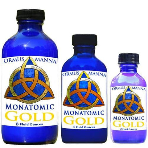 Image of 2 oz  Ormus Manna Monatomic Gold, Platinum & Silver ~ 12x Concentrated A+