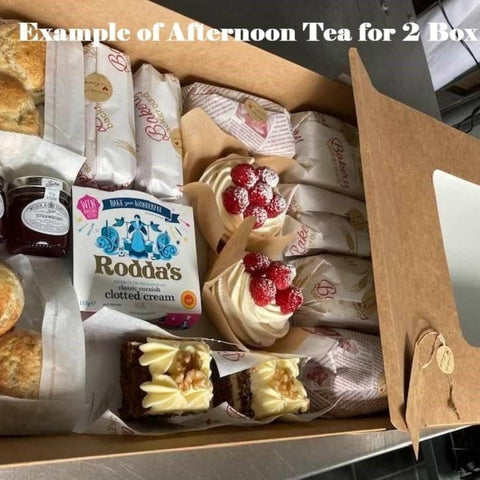 Afternoon Tea Delivered - Derby & Nottingham