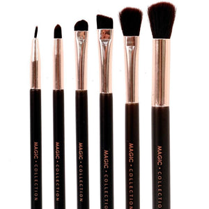 Magic Collection Perfection Eye Makeup Brush Set 6pcs
