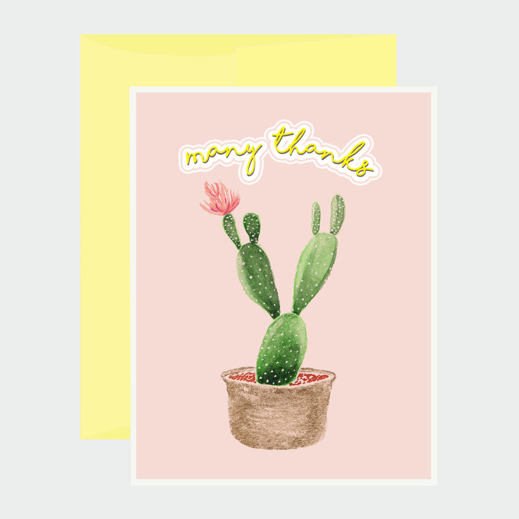 CACTUS - THANK YOU CARD