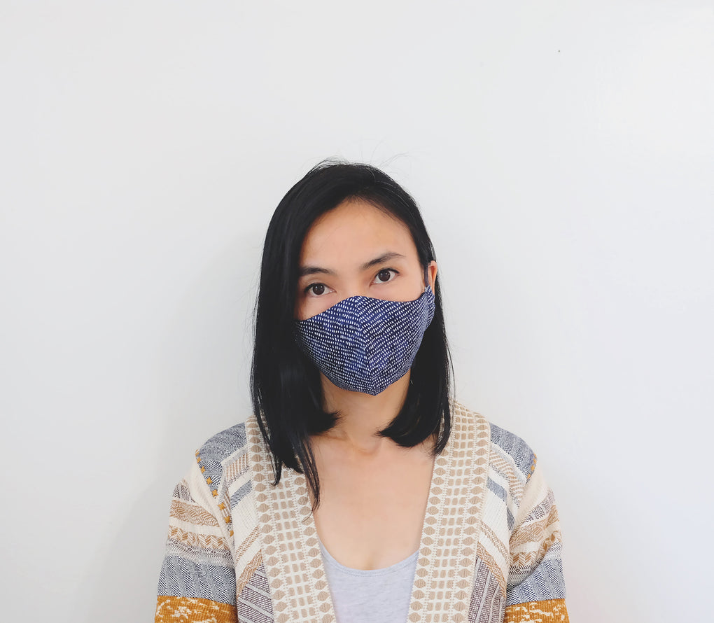 [STYLE A] -- All-In-One Fitted Face Mask -- FLORAL COLLECTION #2