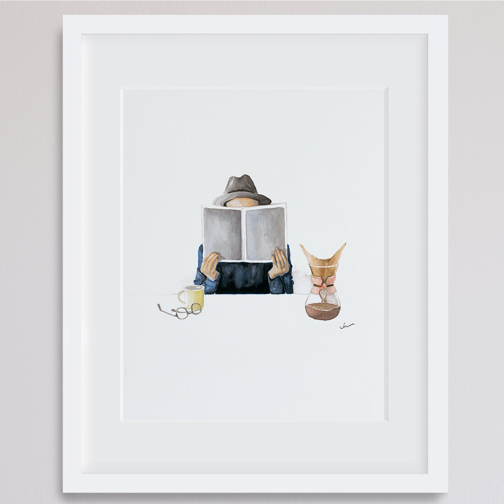 MORNING COFFEE ARCHIVAL GICLEE ART PRINT