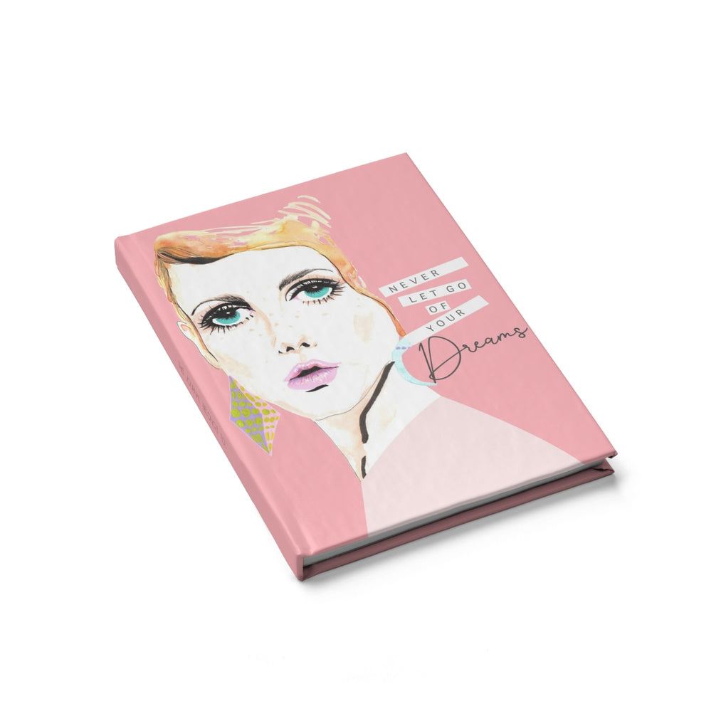 BLANK TWIGGY PINK JOURNAL