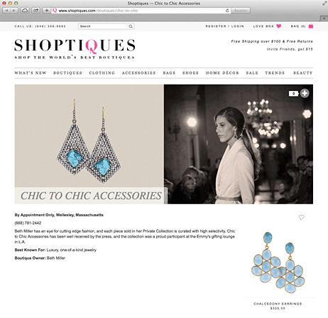 Chic to Chic goes e-commerce