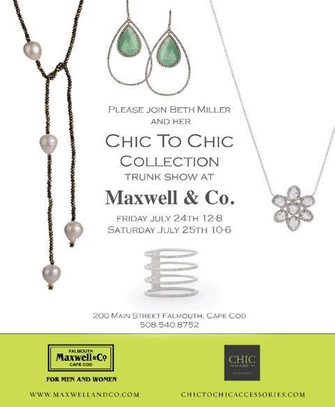 Maxwell and Company Trunk Show