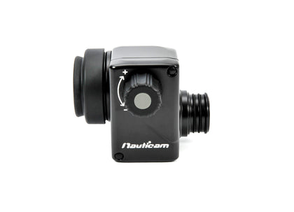 Nauticam 180° straight viewfinder for MIL housings