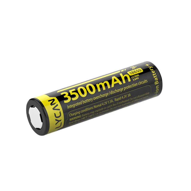 Lycan 18650 Battery 3500mah