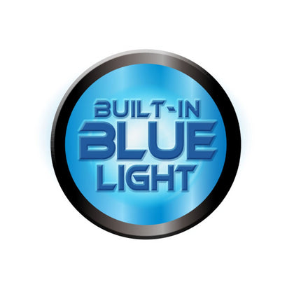 BigBlue AL2600XWPB 2600-Lumen Extra-Wide Beam w/ Built-in Blue & Red Light