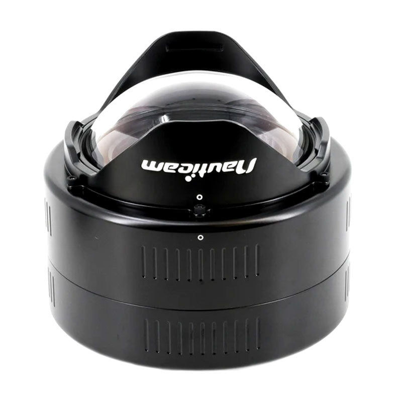 Nauticam N100 0.36x Wide Angle Conversion Port with Aluminium Float Collar (incl. N100 Extension ring 35).
