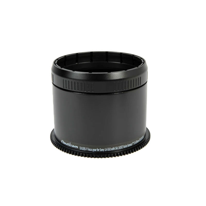 Nauticam EA1635-F Focus gear for Sony LA-EA3 with SAL1635Z Vario-Sonnar T* 16-35mm F2.8 ZA SSM